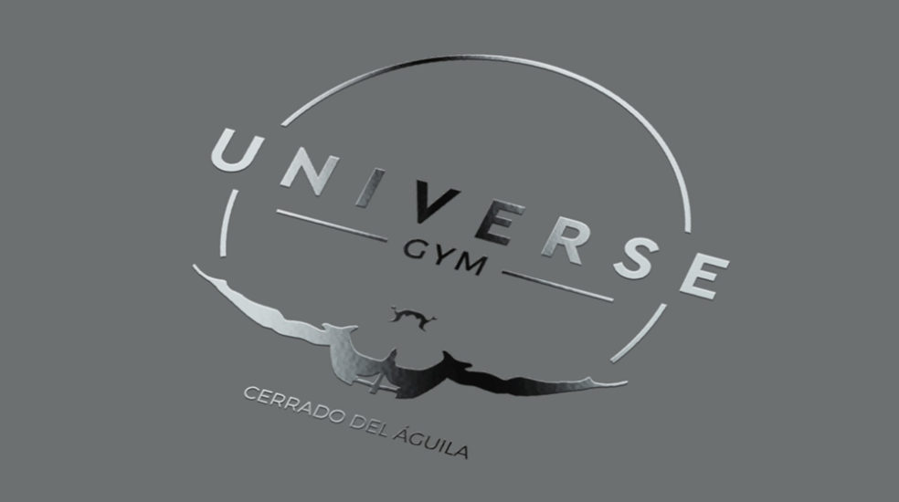 Universe Gym logo mocked up