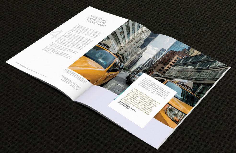 WiredScore brochure spread