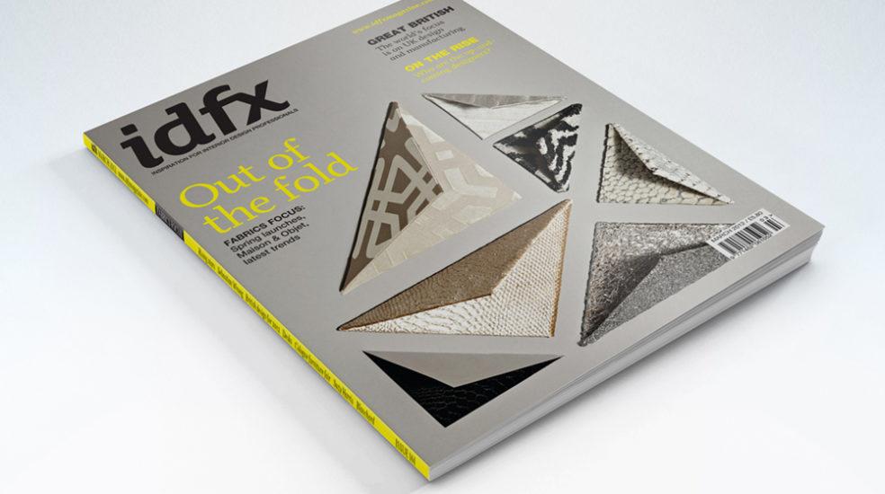 IDFX Interior Design trade magazine