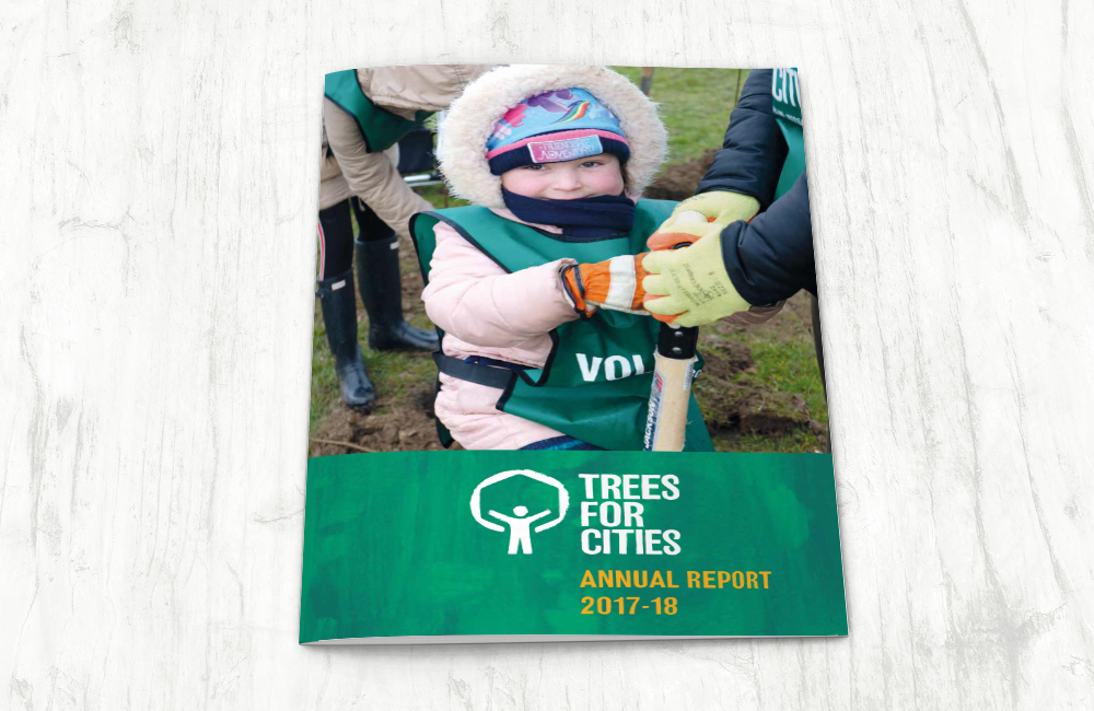 Trees for Cities: Annual Report 2017-2018