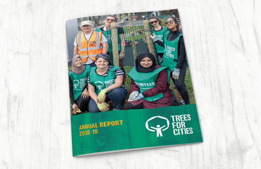 Trees for Cities Annual Report 2018-19