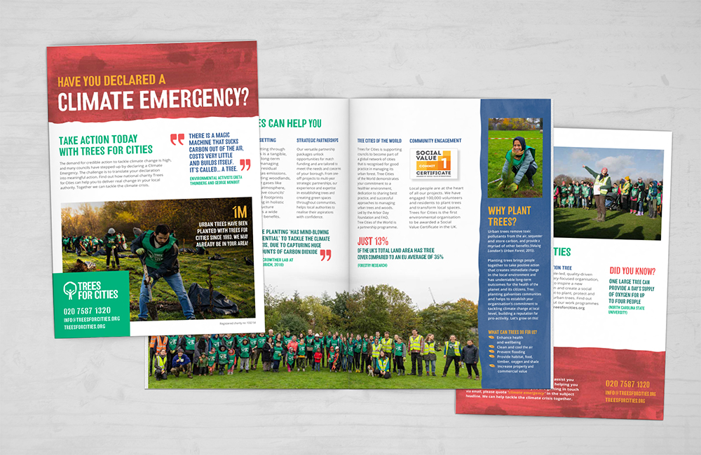 Climate Emergency brochure