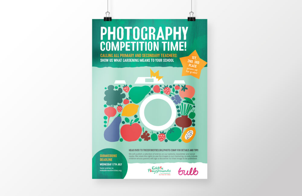 Photography competition poster
