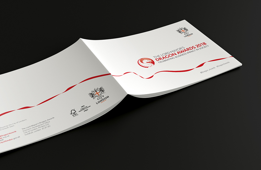 The Lord Mayor's Dragon Awards brochure