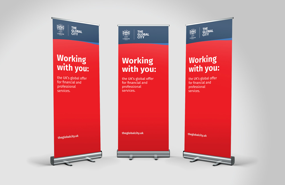 The Global City roller banner