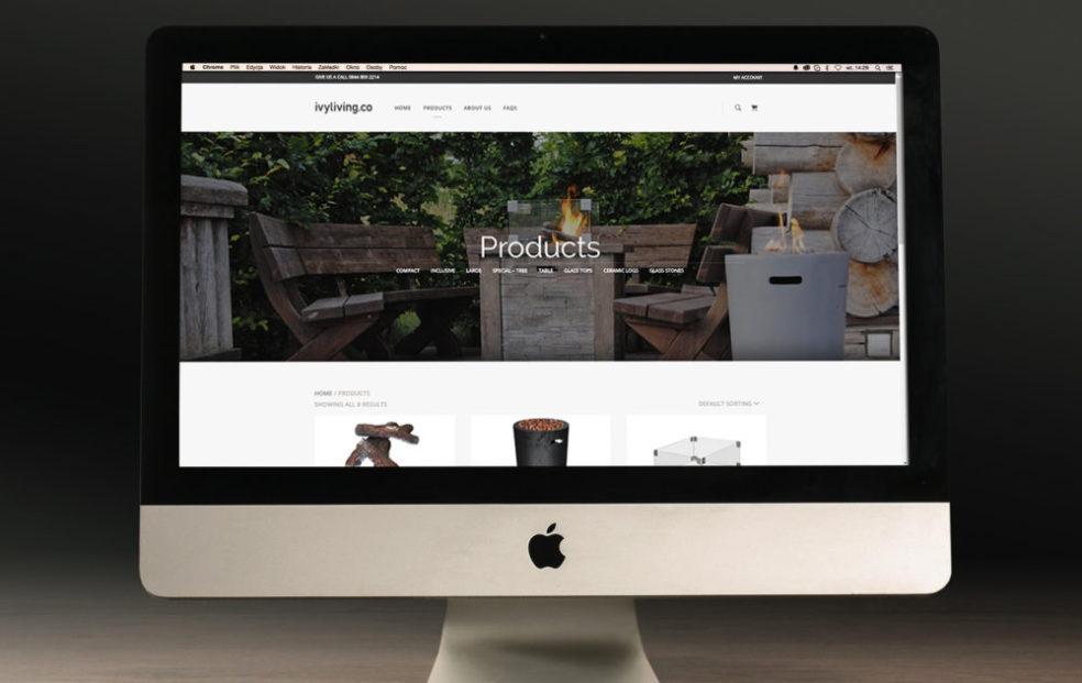 Ivyliving.co website