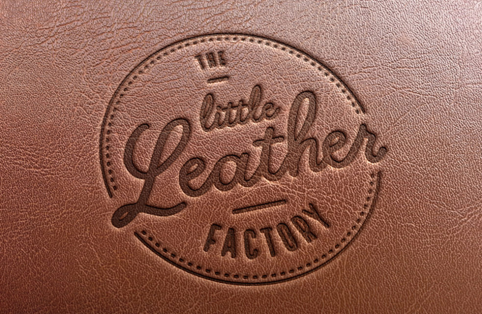 The Little Leather Factory logo design