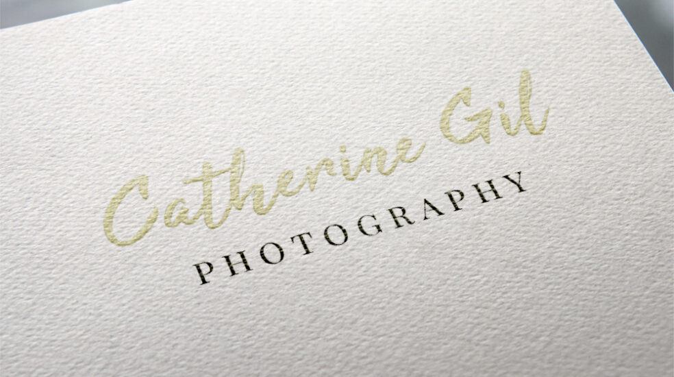 Catherine Gil Photography Logo design
