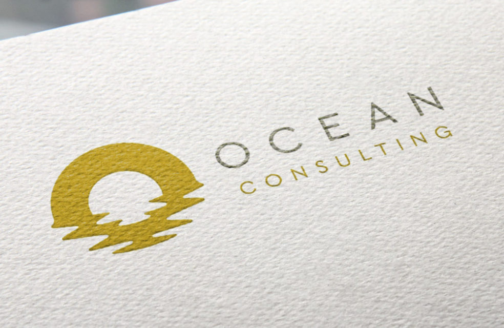 Ocean Consulting logo design